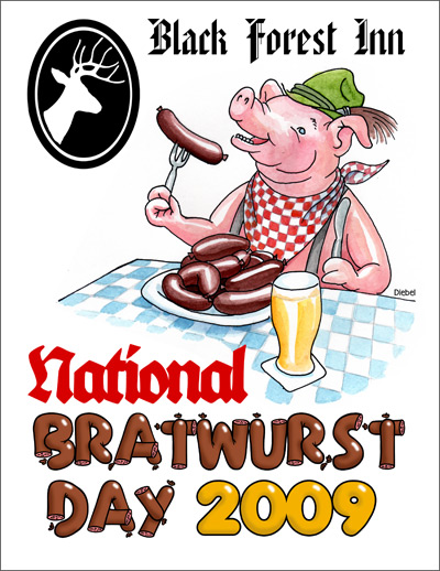 National Bratwurst Day 2009